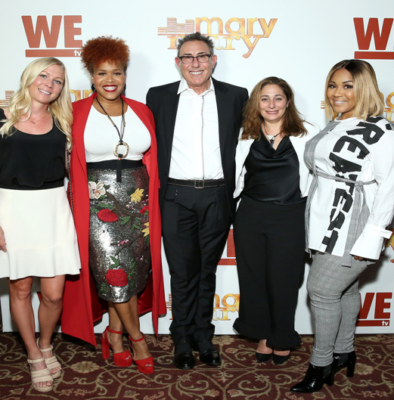 "exclusive: wetv hosted a screening for final season of ""mary mary"