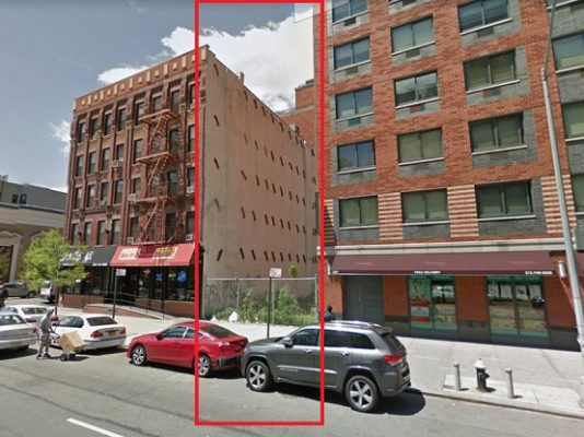 Developer Files Plans For New Apartments In Harlem