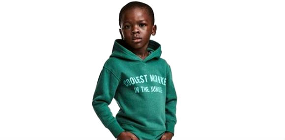 h m apologizes for using black child to sell hoodie. Black Bedroom Furniture Sets. Home Design Ideas