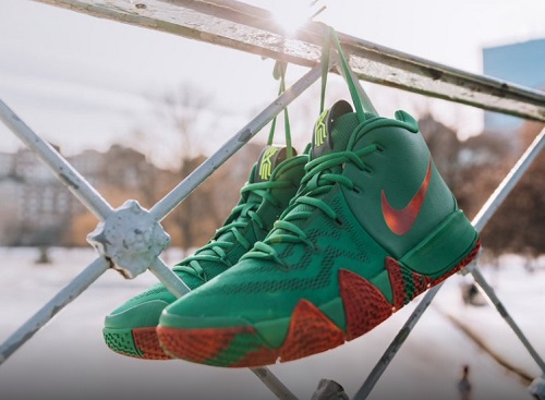buy popular 46639 fa481 Get The Nike Kyrie 4 Fall Foliage PE Now In Harlem