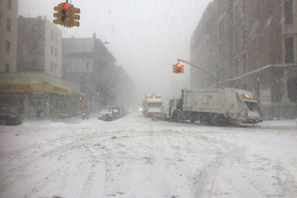 NYC Emergency Management Department Today Issued A Travel Advisory