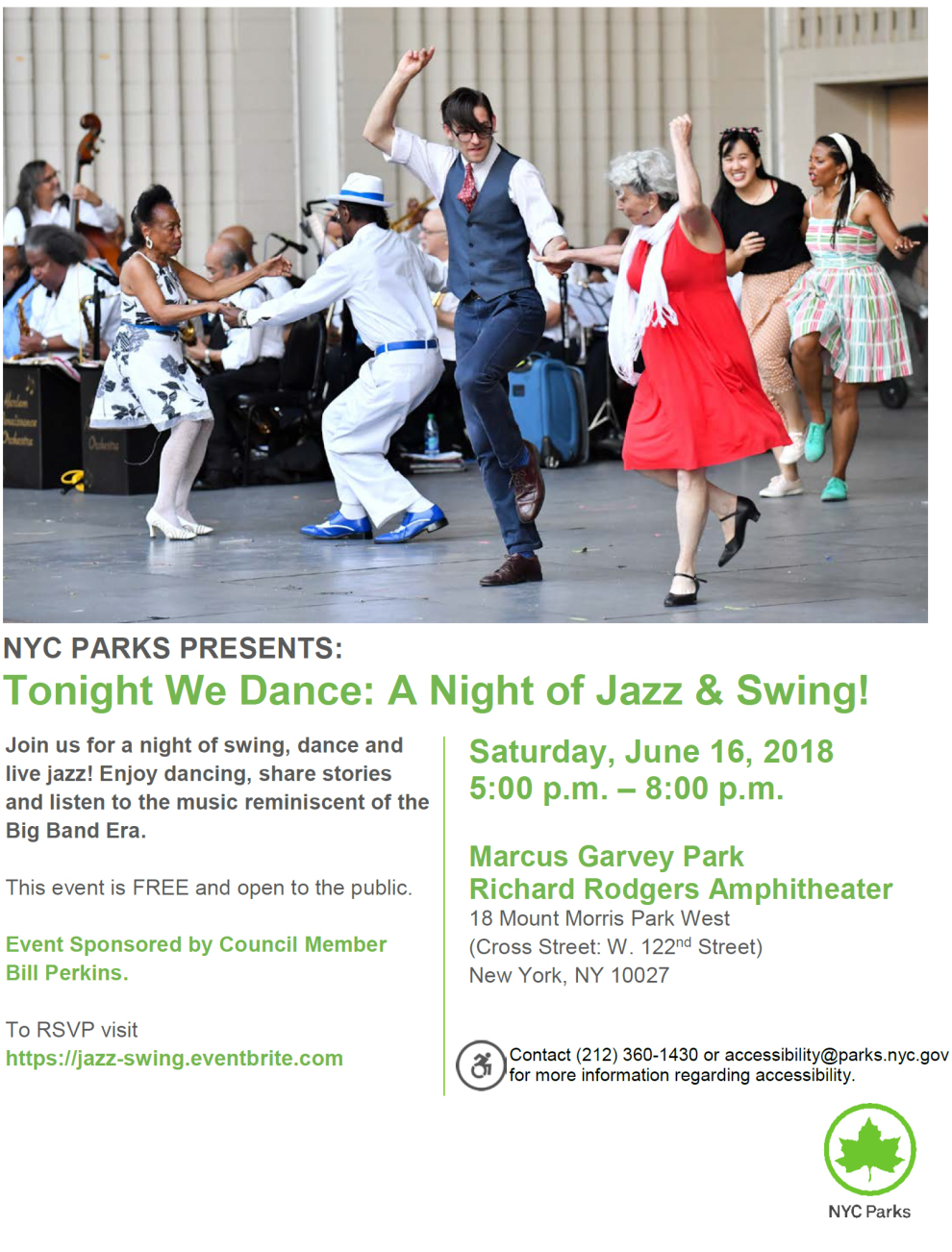 Tonight We Dance A Night Of Jazz & Swing In Harlem