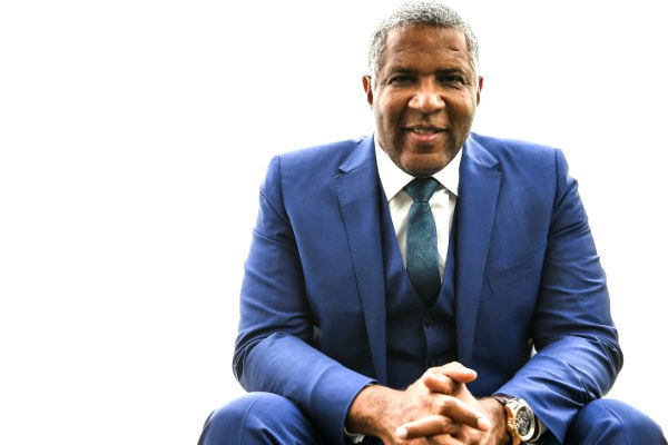 Philanthropist Robert F. Smith, Evander Holyfield And Others At World Values Network's Gala