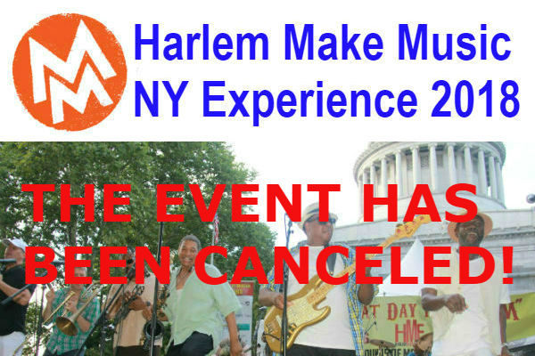 CANCELED: Join The Free Celebration At The Harlem Make Music NY Experience 2018 (Updated)