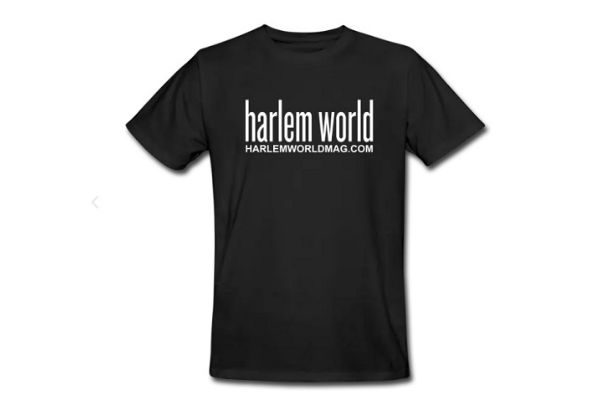 """Harlem World,"" New 100% Organic Cotton T-Shirt"