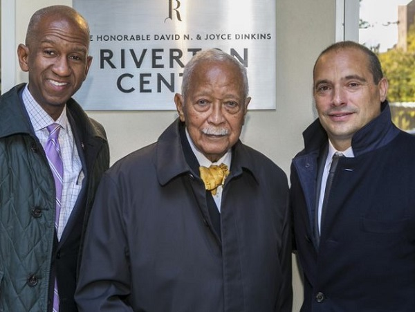 david n dinkins join the community and others at dedication of dinkins riverton center david n dinkins join the community and