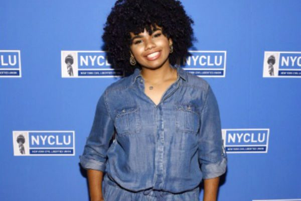 Harlem's Wé Donald At The NYCLU Broadway Stands Up For Freedom Concert (Red Carpet)