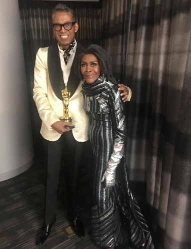 Fashion Designer B Michael Becomes First Black Luxury Designer To Dress An Oscar Winner