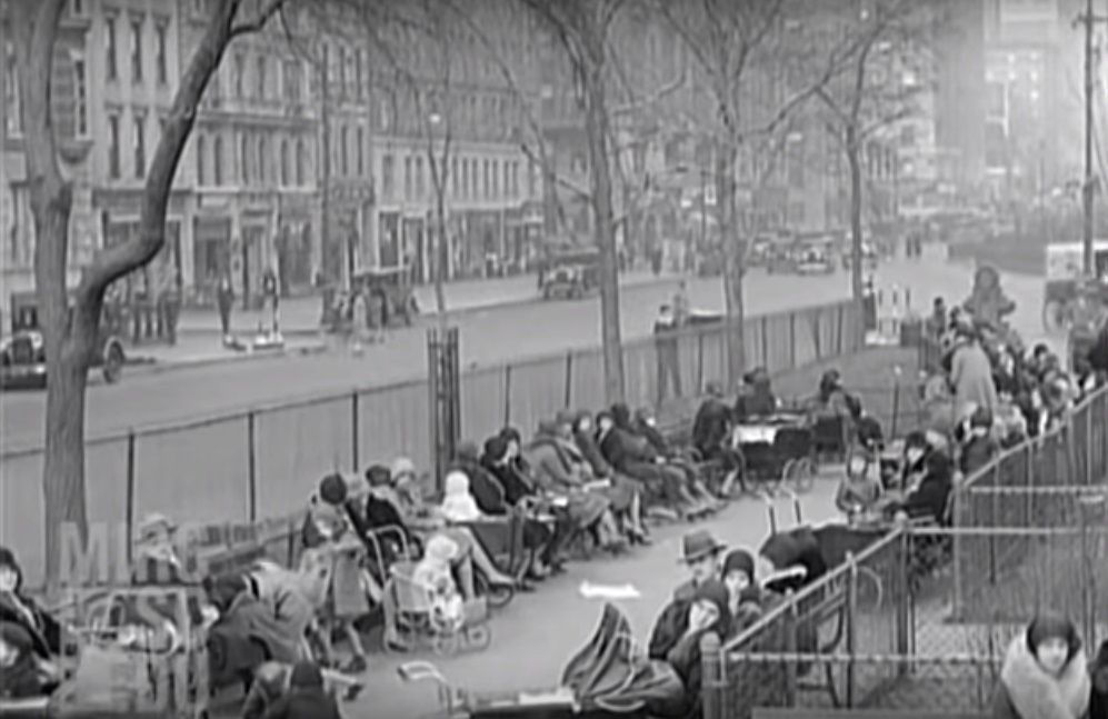 West Harlem's Famous Straus Park Video A Window Into